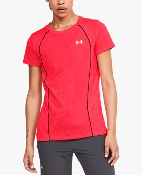 Women's UA Tech™ Jacquard Short Sleeve Crew